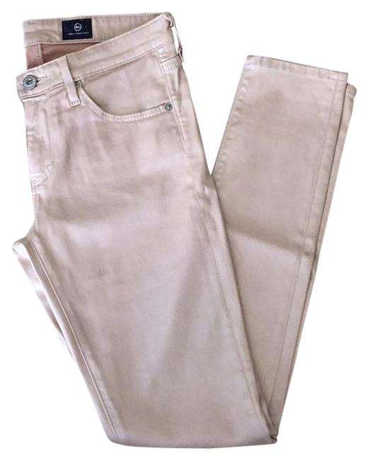 Item - Tan Coated The Legging Ankle Skinny Jeans Size 26 (2, XS)