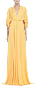 Yellow Maxi Dress by Rachel Pally Jersey Modal Maxi Stretchy Caftan