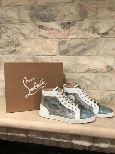 Christian Louboutin Bip Strass Crystal Sneaker Trainer white Athletic Image 1