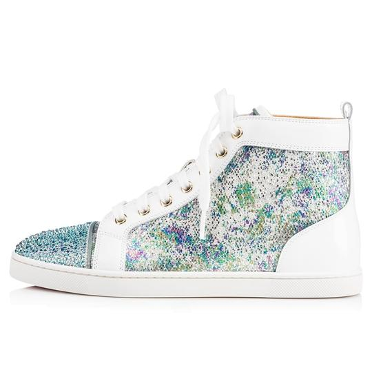 Christian Louboutin Bip Strass Crystal Sneaker Trainer white Athletic Image 2