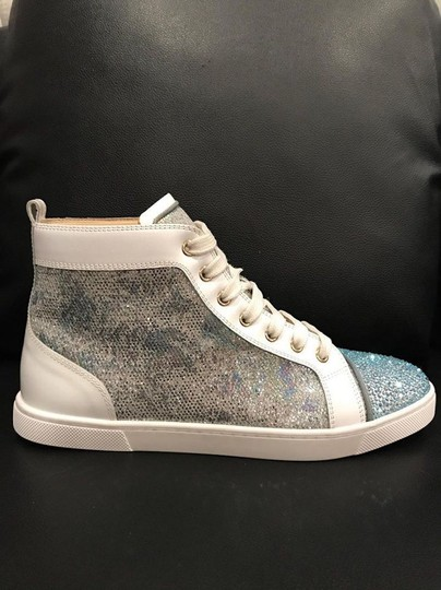 Christian Louboutin Bip Strass Crystal Sneaker Trainer white Athletic Image 3