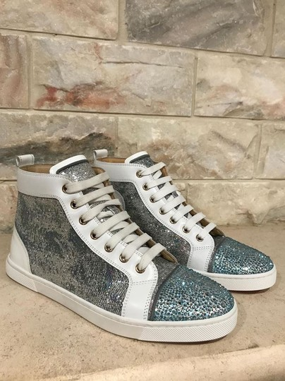 Christian Louboutin Bip Strass Crystal Sneaker Trainer white Athletic Image 6