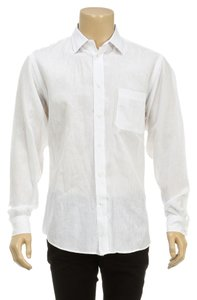 Zegna Sport Button Down Shirt White
