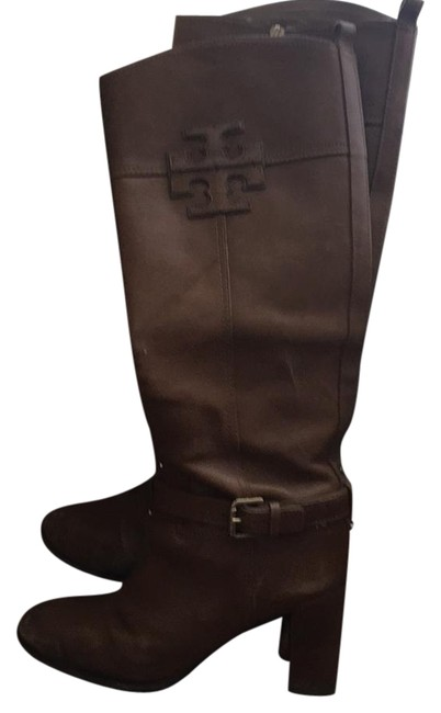 Tory Burch Brown Knee High Boots/Booties Size US 9 Regular (M, B) Tory Burch Brown Knee High Boots/Booties Size US 9 Regular (M, B) Image 1