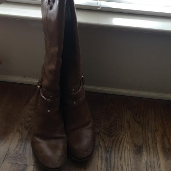 Tory Burch Brown Knee High Boots/Booties Size US 9 Regular (M, B) Tory Burch Brown Knee High Boots/Booties Size US 9 Regular (M, B) Image 2