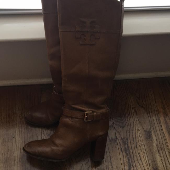 Tory Burch Brown Knee High Boots/Booties Size US 9 Regular (M, B) Tory Burch Brown Knee High Boots/Booties Size US 9 Regular (M, B) Image 3