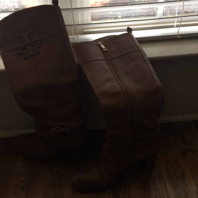 Tory Burch Brown Knee High Boots/Booties Size US 9 Regular (M, B) Tory Burch Brown Knee High Boots/Booties Size US 9 Regular (M, B) Image 5
