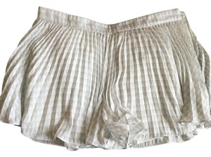 A|X Armani Exchange Dress Shorts White grey