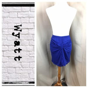 Wyatt Skirt Cobalt
