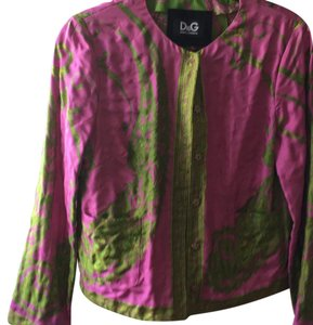 Dolce&Gabbana Top pink and green