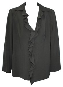 ESCADA Wool 44 BLACK Blazer