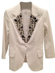 Boston Proper White Blazer