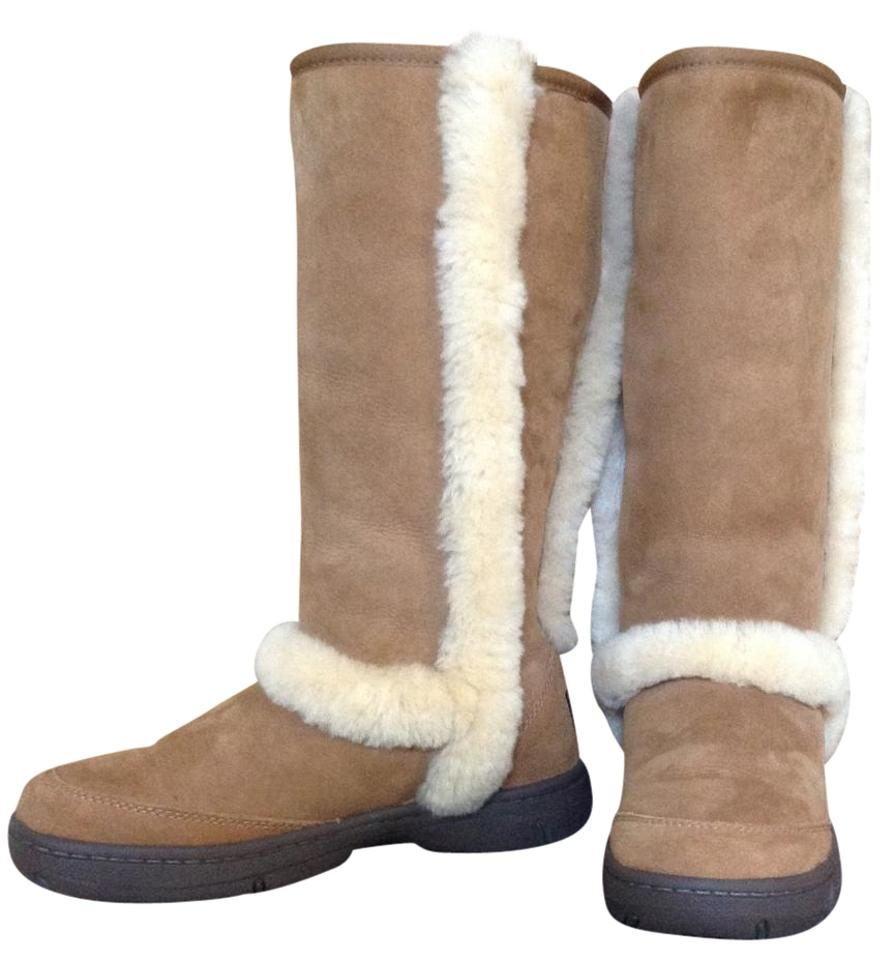 sunburst tall chestnut ugg boots