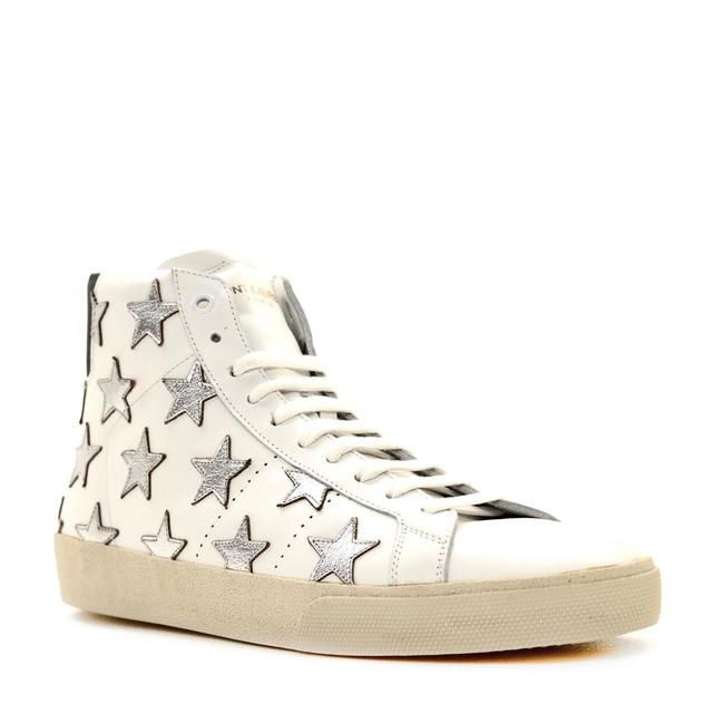 Saint Laurent White Men's California Star Sl/06m Sneakers Size US 8 Regular (M, B) Saint Laurent White Men's California Star Sl/06m Sneakers Size US 8 Regular (M, B) Image 1