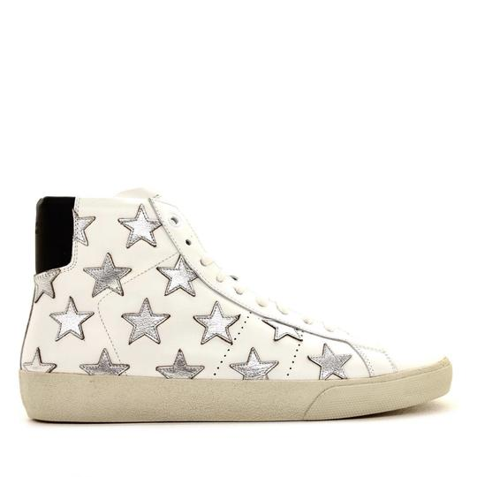 Saint Laurent Classic Court High Top Sneaker White Athletic Image 1