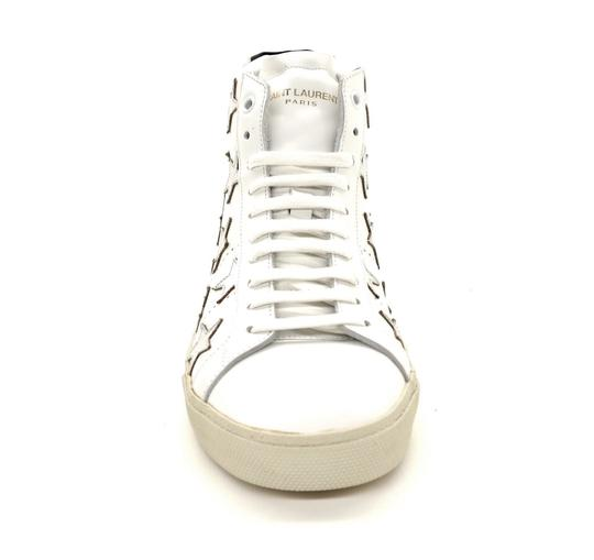 Saint Laurent Classic Court High Top Sneaker White Athletic Image 3