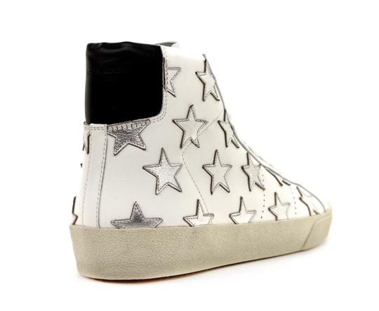 Saint Laurent Classic Court High Top Sneaker White Athletic Image 4