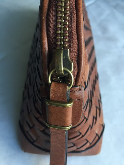 Cole Haan Leather Mahagony Clutch Image 1