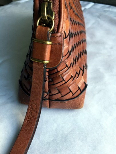 Cole Haan Leather Mahagony Clutch Image 5