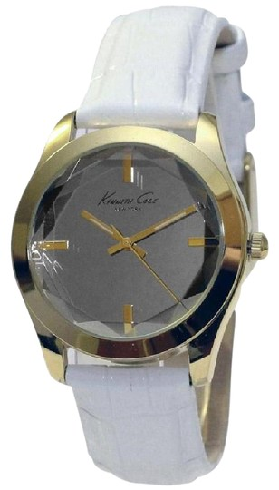 Preload https://img-static.tradesy.com/item/22177907/kenneth-cole-white-leather-band-kcw2001-women-s-with-silver-analog-dial-watch-0-1-540-540.jpg