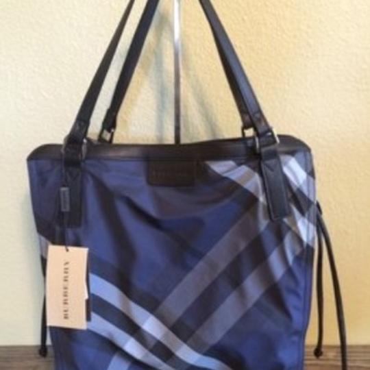 Burberry Tote in Navy Image 1