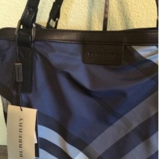 Burberry Tote in Navy Image 2
