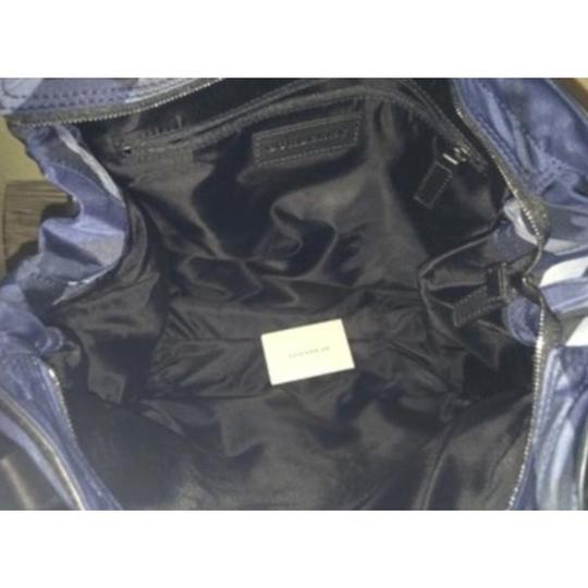 Burberry Tote in Navy Image 3