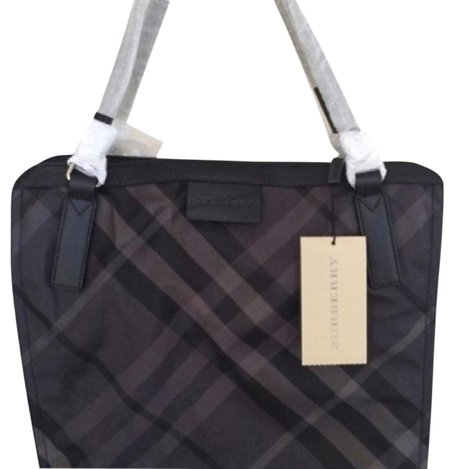 Burberry Buckleigh Charcoal Nylon Tote - Tradesy 0b1e2332b97f8