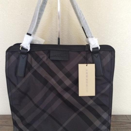 Burberry Tote in Charcoal Image 2