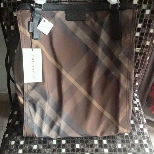 Burberry Tote in Birch Gray Image 1