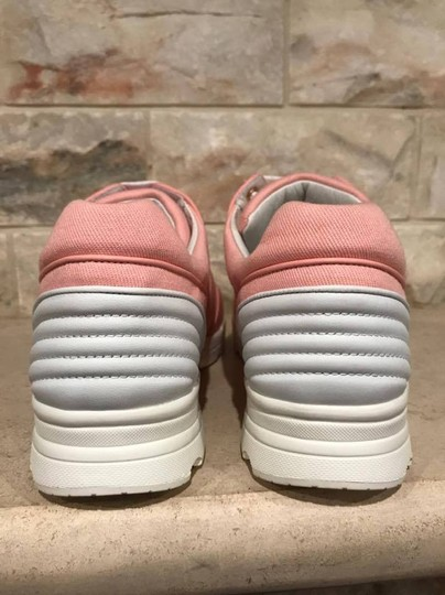 Chanel Trainer Runner Sneaker Flat Classic pink Athletic Image 10