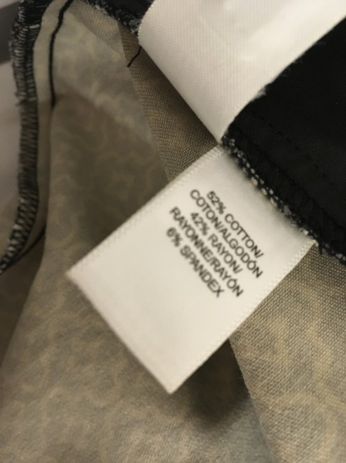 Ann Taylor LOFT Flattering New Tags Straight Pants Dark Brown with small white print Image 7