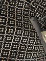 Ann Taylor LOFT Flattering New Tags Straight Pants Dark Brown with small white print Image 9