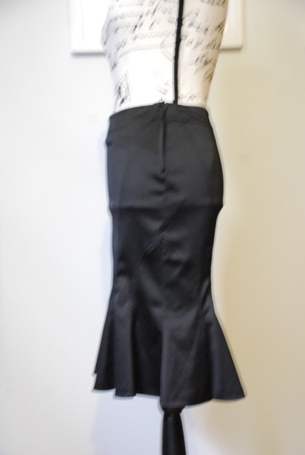Divided by H&M Vintage Pencil Sexy Romantic Skirt Black Image 2