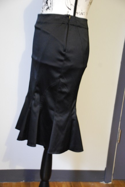 Divided by H&M Vintage Pencil Sexy Romantic Skirt Black Image 4