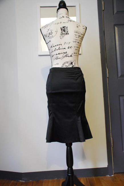 Divided by H&M Vintage Pencil Sexy Romantic Skirt Black Image 5