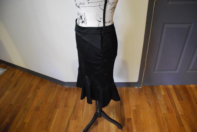 Divided by H&M Vintage Pencil Sexy Romantic Skirt Black Image 7