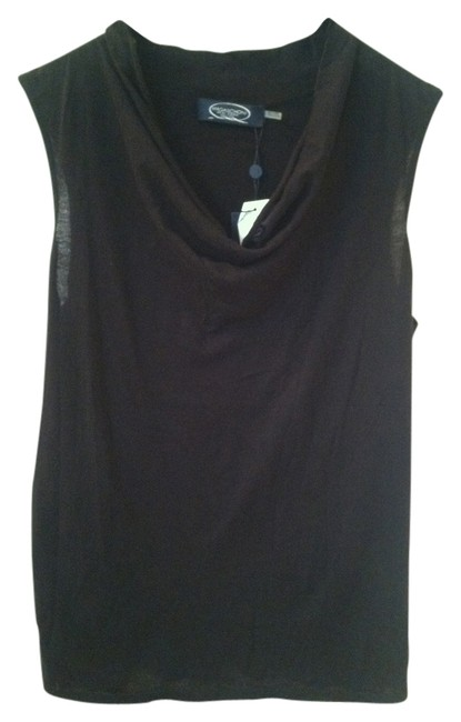 Preload https://img-static.tradesy.com/item/2217808/magaschoni-black-sleeveless-sweaterpullover-size-12-l-0-0-650-650.jpg