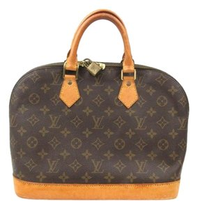 Louis Vuitton Alma M51130 Pm Gm Mm Lv Satchel in Brown