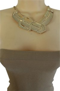 alwaystyle4you Women-Gold-Metal-Chain-Weekend-Fashion-Necklace-Big-Belt-Buckle-Charm