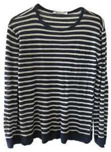 T by Alexander Wang T Shirt Blue and white stripes