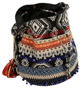 Stela 9 Tote in Blue and Multi