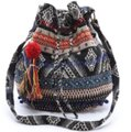Stela 9 Tote in Blue and Multi Image 1