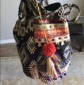Stela 9 Tote in Blue and Multi Image 2