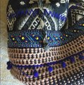 Stela 9 Tote in Blue and Multi Image 3