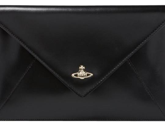 Preload https://img-static.tradesy.com/item/22178513/vivienne-westwood-private-envelop-black-leather-clutch-0-1-540-540.jpg