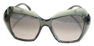 Chanel Chanel Sunglasses Oversized Green Acetate Unigue! Size 54MM