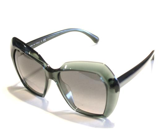 Chanel Chanel Sunglasses Oversized Green Acetate Unigue! Size 54MM Image 3