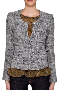 IRO Wool Textured Couture Two-tone Tweed Blazer