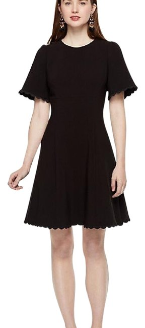 Preload https://img-static.tradesy.com/item/22179073/kate-spade-black-scallop-crepe-swing-short-cocktail-dress-size-8-m-0-1-650-650.jpg